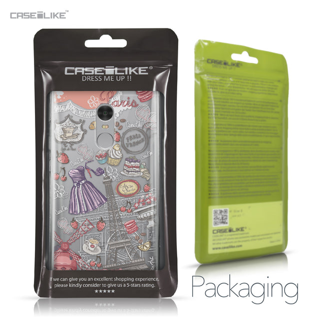 Xiaomi Redmi Note 4 case Paris Holiday 3907 Retail Packaging | CASEiLIKE.com