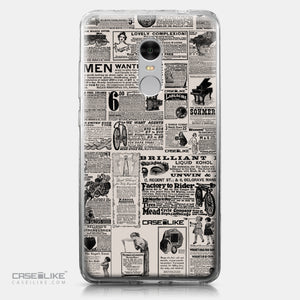 Xiaomi Redmi Note 4 case Vintage Newspaper Advertising 4818 | CASEiLIKE.com