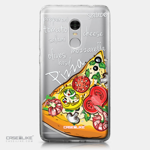 Xiaomi Redmi Note 4 case Pizza 4822 | CASEiLIKE.com