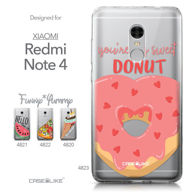 Xiaomi Redmi Note 4 case Dounuts 4823 Collection | CASEiLIKE.com