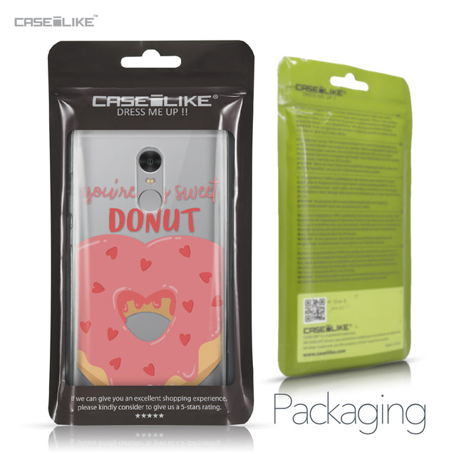 Xiaomi Redmi Note 4 case Dounuts 4823 Retail Packaging | CASEiLIKE.com