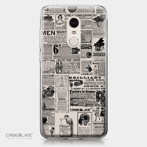 Xiaomi Redmi Note 5 case Vintage Newspaper Advertising 4818 | CASEiLIKE.com