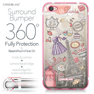 Xiaomi Redmi Note 5A case Paris Holiday 3907 Bumper Case Protection | CASEiLIKE.com
