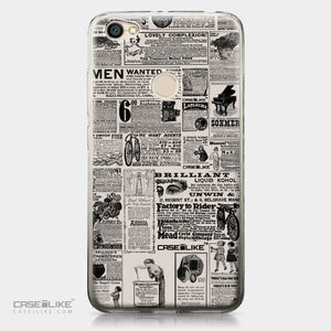 Xiaomi Redmi Note 5A case Vintage Newspaper Advertising 4818 | CASEiLIKE.com
