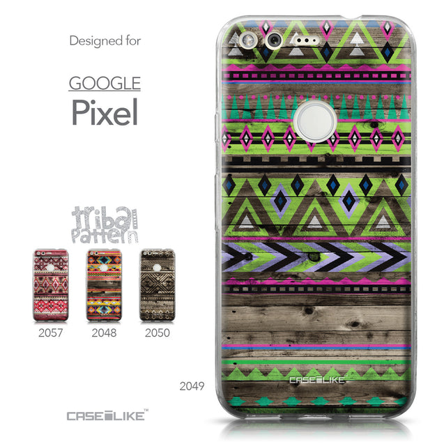 Google Pixel case Indian Tribal Theme Pattern 2049 Collection | CASEiLIKE.com