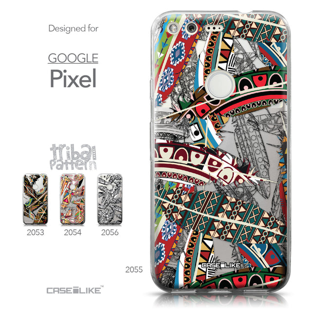 Google Pixel case Indian Tribal Theme Pattern 2055 Collection | CASEiLIKE.com
