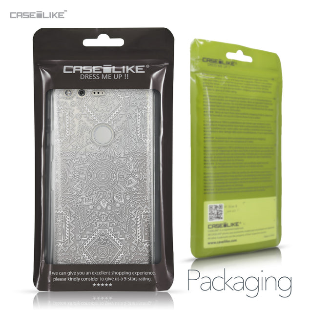 Google Pixel case Indian Line Art 2061 Retail Packaging | CASEiLIKE.com