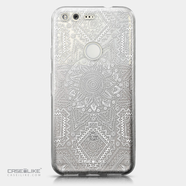 Google Pixel case Indian Line Art 2061 | CASEiLIKE.com