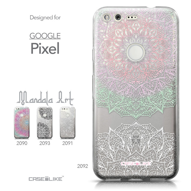 Google Pixel case Mandala Art 2092 Collection | CASEiLIKE.com