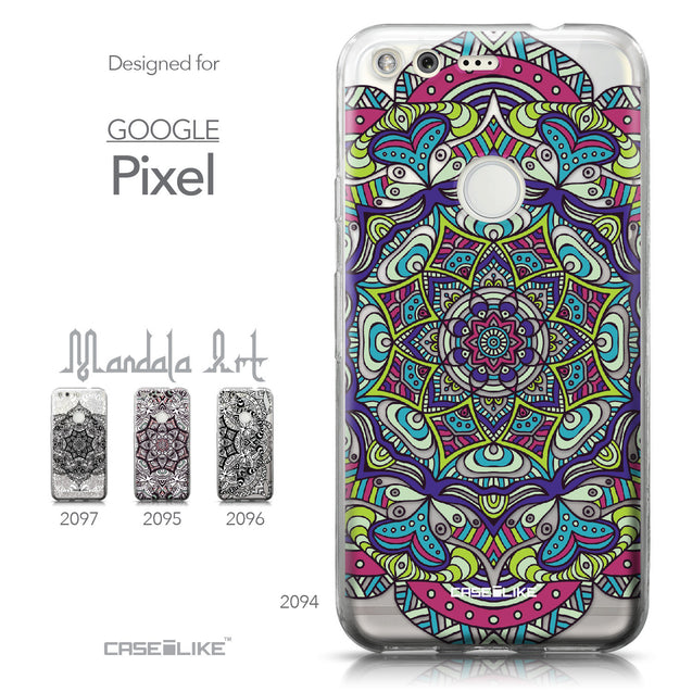 Google Pixel case Mandala Art 2094 Collection | CASEiLIKE.com