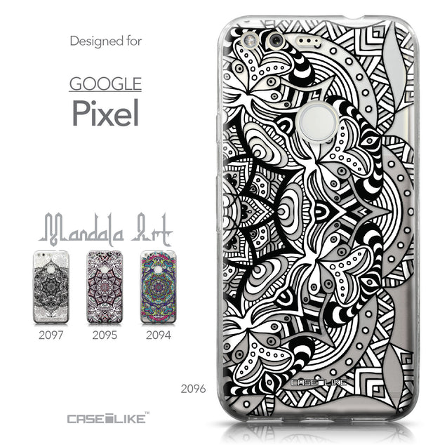 Google Pixel case Mandala Art 2096 Collection | CASEiLIKE.com