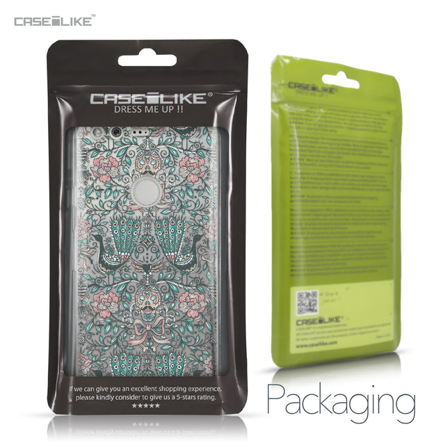 Google Pixel case Roses Ornamental Skulls Peacocks 2226 Retail Packaging | CASEiLIKE.com