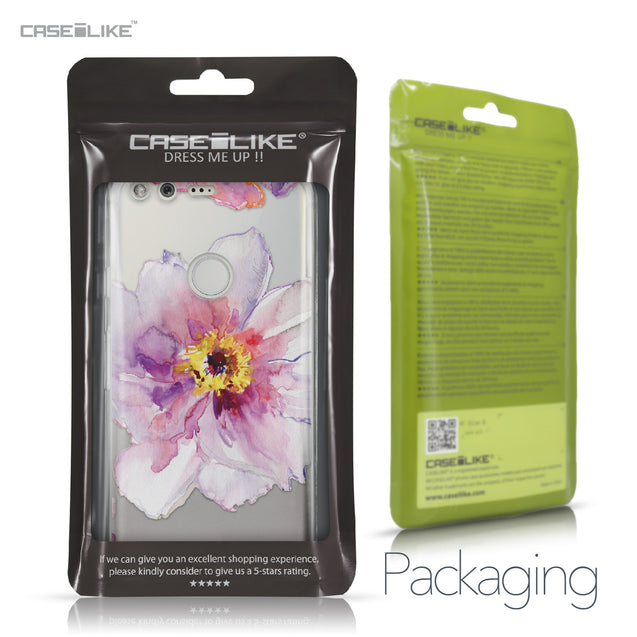 Google Pixel case Watercolor Floral 2231 Retail Packaging | CASEiLIKE.com
