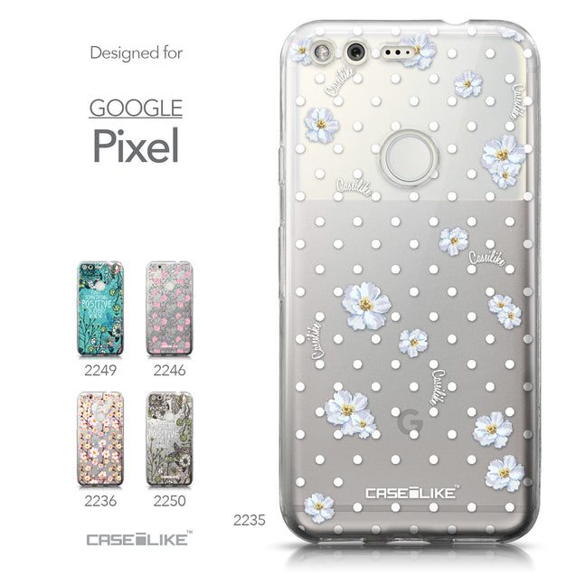 Google Pixel case Watercolor Floral 2235 Collection | CASEiLIKE.com