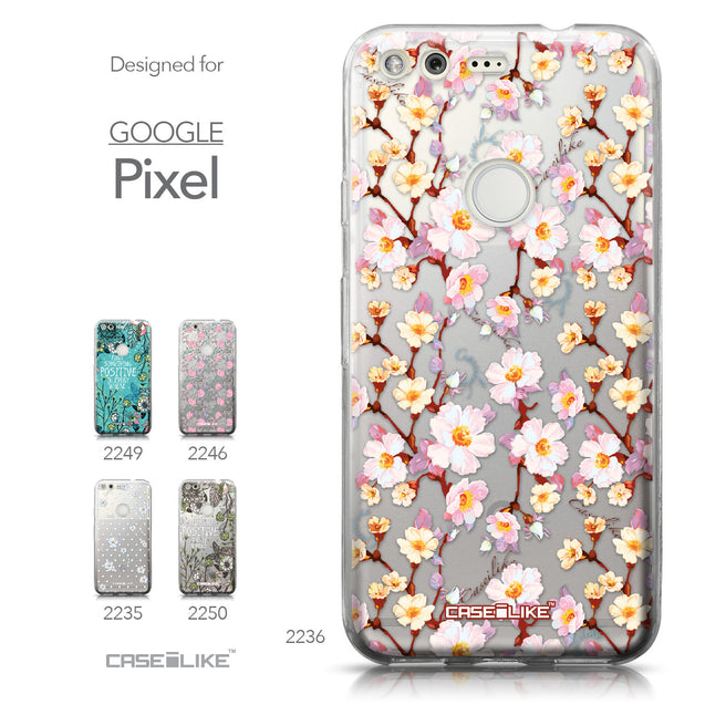 Google Pixel case Watercolor Floral 2236 Collection | CASEiLIKE.com