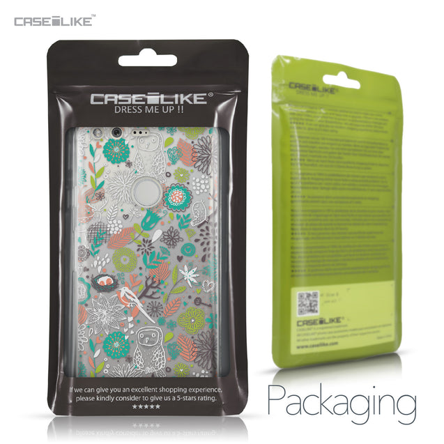 Google Pixel case Spring Forest White 2241 Retail Packaging | CASEiLIKE.com