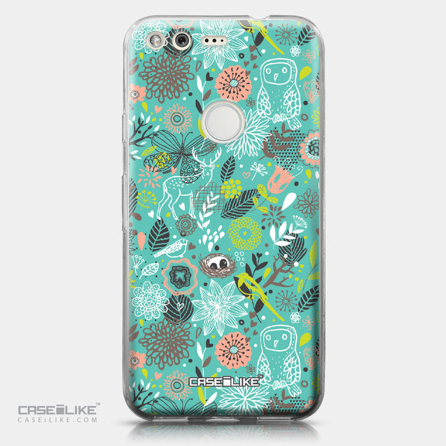 Google Pixel case Spring Forest Turquoise 2245 | CASEiLIKE.com