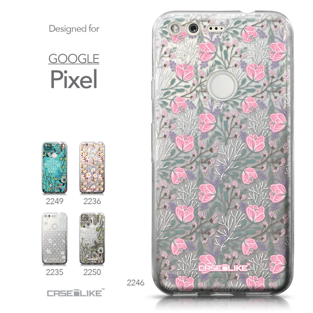 Google Pixel case Flowers Herbs 2246 Collection | CASEiLIKE.com