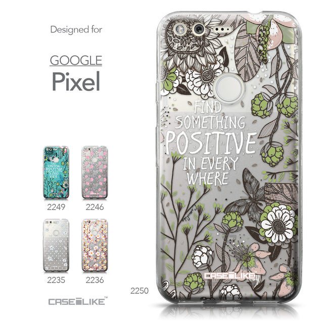 Google Pixel case Blooming Flowers 2250 Collection | CASEiLIKE.com