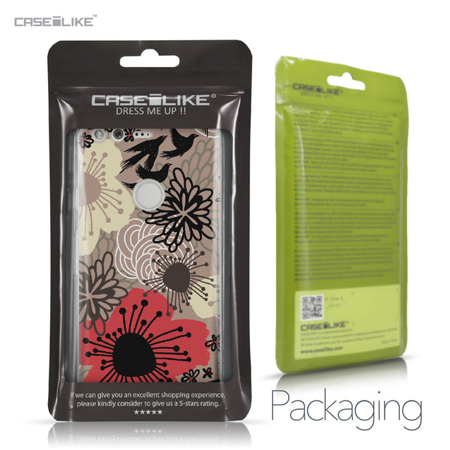 Google Pixel case Japanese Floral 2254 Retail Packaging | CASEiLIKE.com