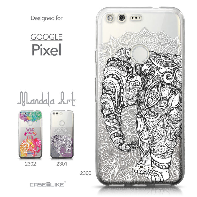 Google Pixel case Mandala Art 2300 Collection | CASEiLIKE.com