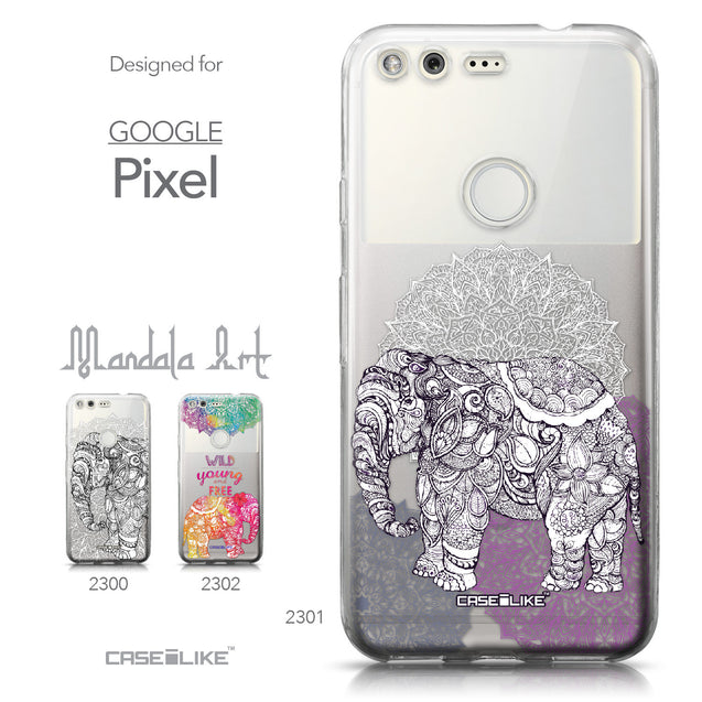 Google Pixel case Mandala Art 2301 Collection | CASEiLIKE.com