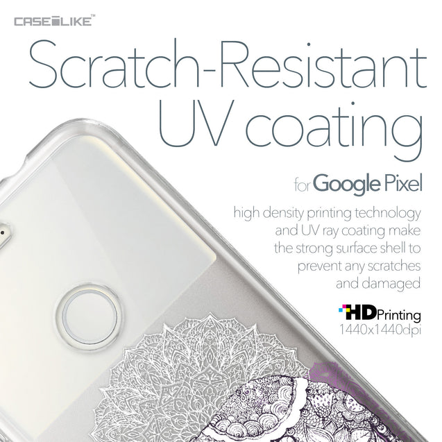 Google Pixel case Mandala Art 2301 with UV-Coating Scratch-Resistant Case | CASEiLIKE.com