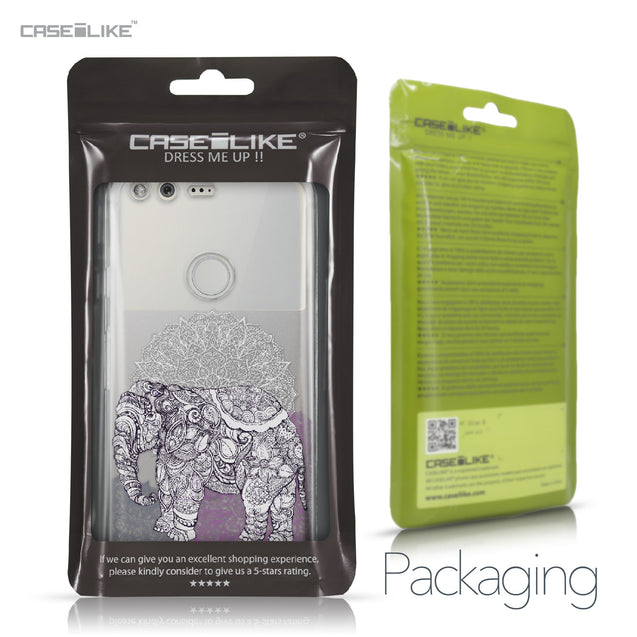 Google Pixel case Mandala Art 2301 Retail Packaging | CASEiLIKE.com