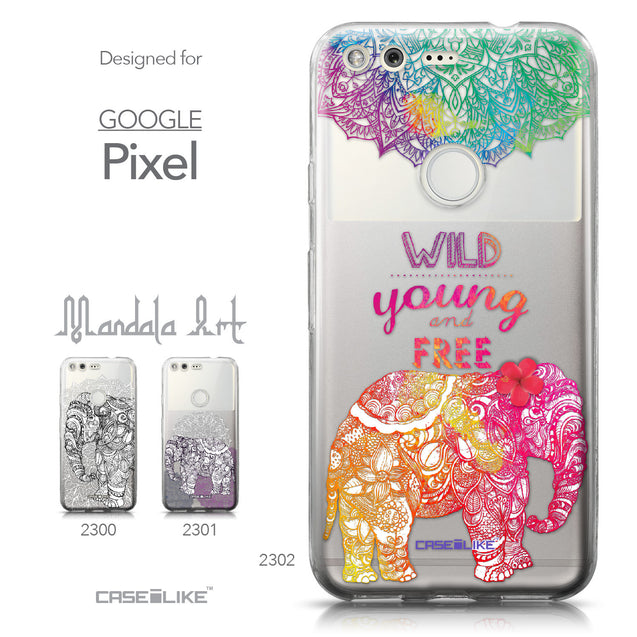 Google Pixel case Mandala Art 2302 Collection | CASEiLIKE.com