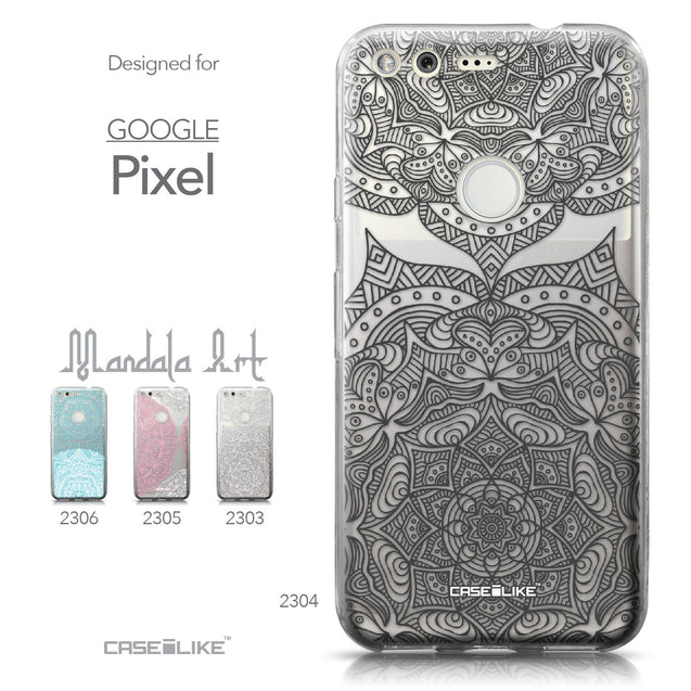 Google Pixel case Mandala Art 2304 Collection | CASEiLIKE.com