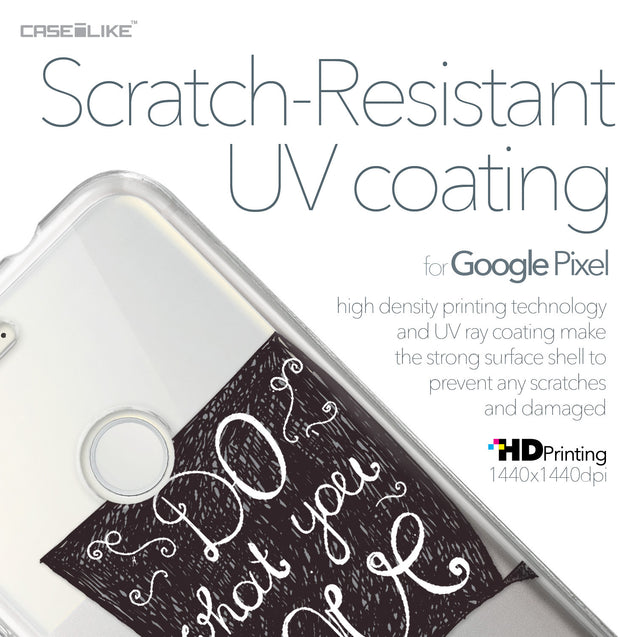 Google Pixel case Quote 2400 with UV-Coating Scratch-Resistant Case | CASEiLIKE.com