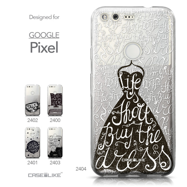 Google Pixel case Quote 2404 Collection | CASEiLIKE.com