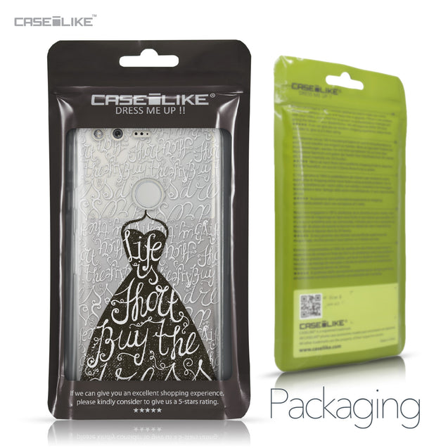 Google Pixel case Quote 2404 Retail Packaging | CASEiLIKE.com