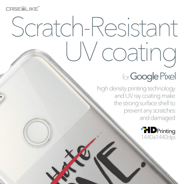 Google Pixel case Quote 2406 with UV-Coating Scratch-Resistant Case | CASEiLIKE.com