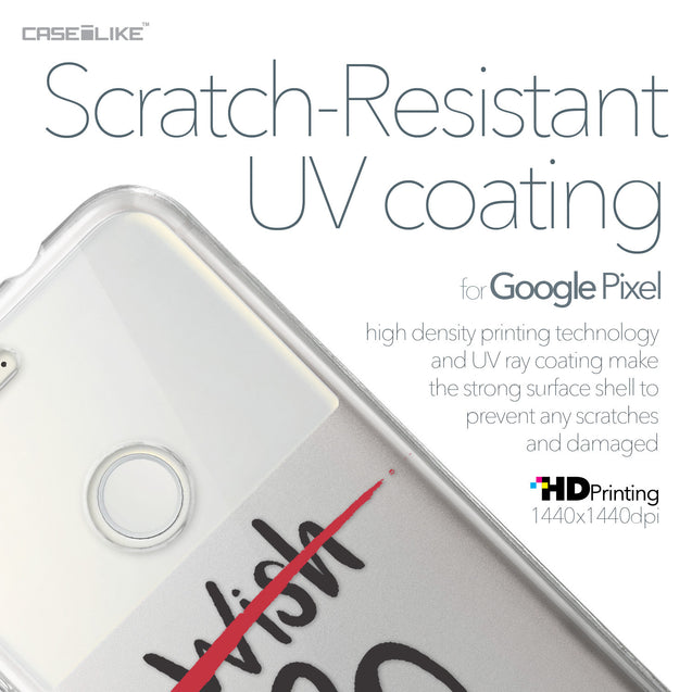 Google Pixel case Quote 2407 with UV-Coating Scratch-Resistant Case | CASEiLIKE.com