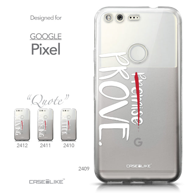 Google Pixel case Quote 2409 Collection | CASEiLIKE.com