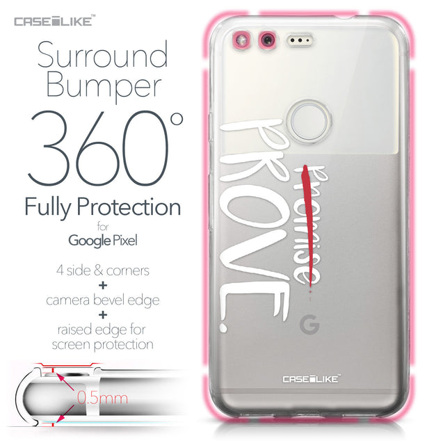 Google Pixel case Quote 2409 Bumper Case Protection | CASEiLIKE.com