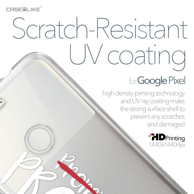 Google Pixel case Quote 2409 with UV-Coating Scratch-Resistant Case | CASEiLIKE.com