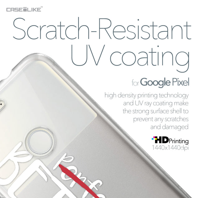 Google Pixel case Quote 2410 with UV-Coating Scratch-Resistant Case | CASEiLIKE.com