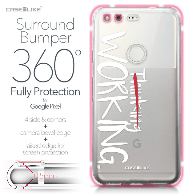 Google Pixel case Quote 2411 Bumper Case Protection | CASEiLIKE.com