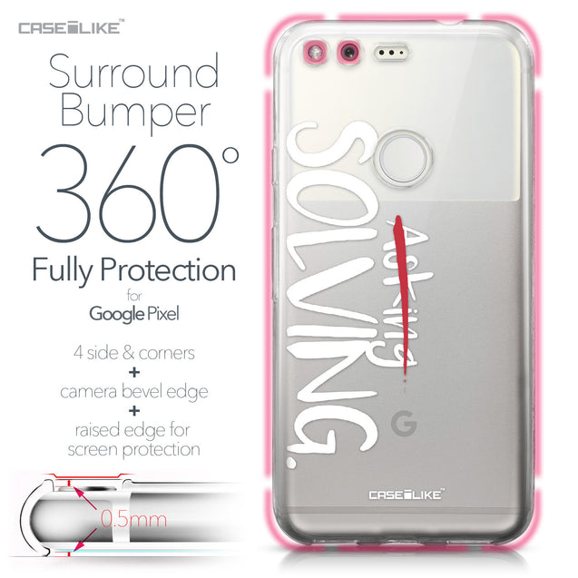 Google Pixel case Quote 2412 Bumper Case Protection | CASEiLIKE.com