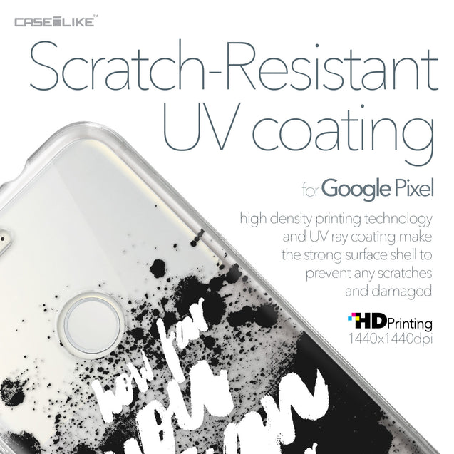 Google Pixel case Quote 2413 with UV-Coating Scratch-Resistant Case | CASEiLIKE.com