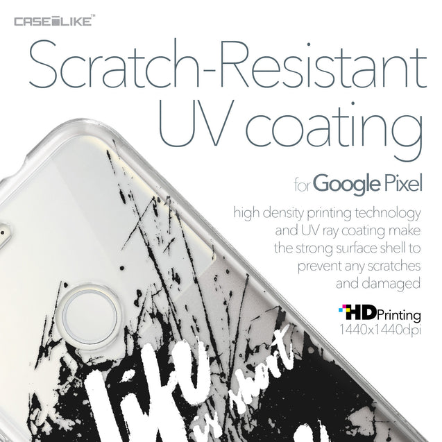 Google Pixel case Quote 2416 with UV-Coating Scratch-Resistant Case | CASEiLIKE.com