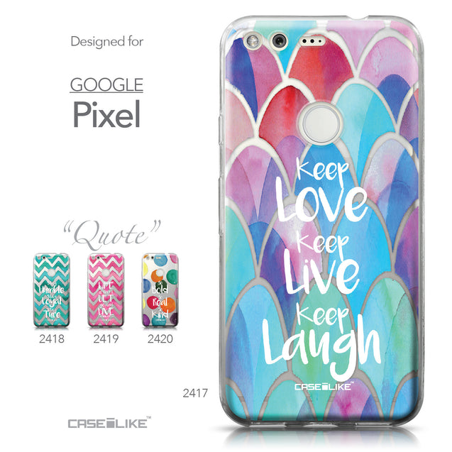 Google Pixel case Quote 2417 Collection | CASEiLIKE.com