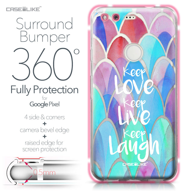 Google Pixel case Quote 2417 Bumper Case Protection | CASEiLIKE.com