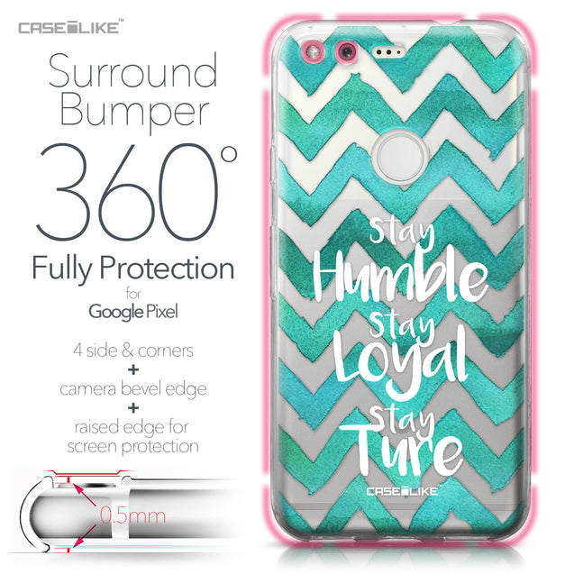 Google Pixel case Quote 2418 Bumper Case Protection | CASEiLIKE.com