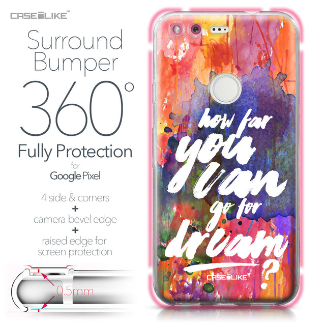 Google Pixel case Quote 2421 Bumper Case Protection | CASEiLIKE.com