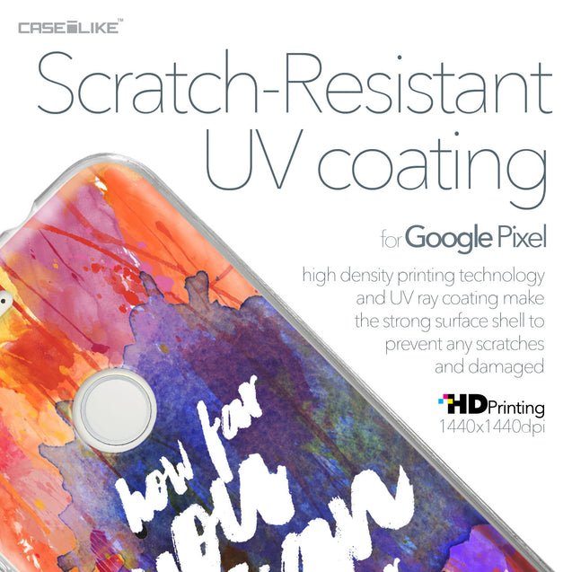 Google Pixel case Quote 2421 with UV-Coating Scratch-Resistant Case | CASEiLIKE.com