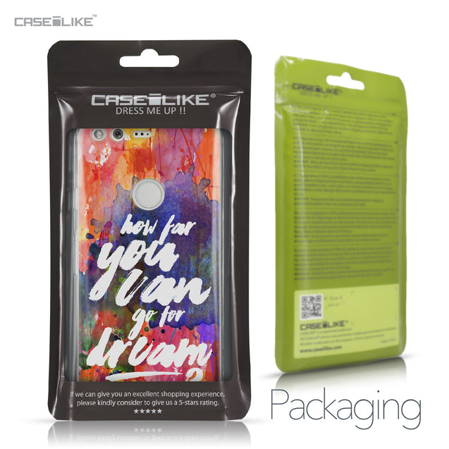 Google Pixel case Quote 2421 Retail Packaging | CASEiLIKE.com