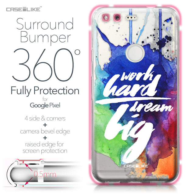 Google Pixel case Quote 2422 Bumper Case Protection | CASEiLIKE.com